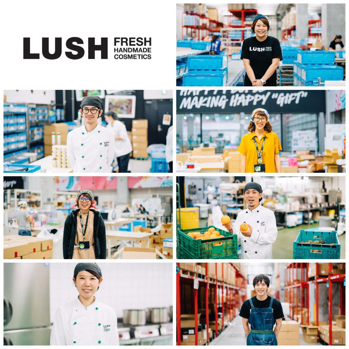 LUSH キッチン 製造・ラッピング/出荷